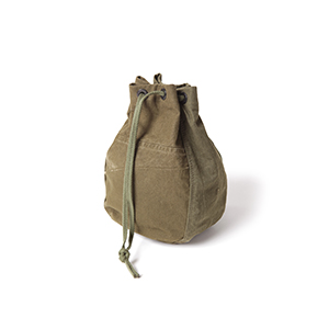 Military Tent Cloth Drawstring Bag for vendor